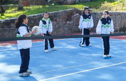 Deportes en Primaria - Instituto Lomas del Real