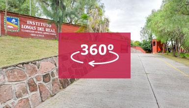 Vista 360 del Colegio Lomas del Real