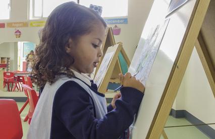 Clases de arte en preescolar - Kínder del Real