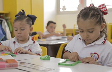 Clases de matemáticas en preescolar - Kínder del Real